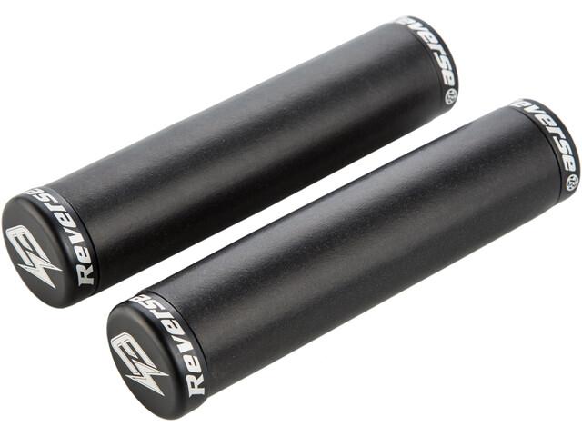 Reverse E-Seismic Ergo Grips pour VTT électriques 140 mm Ø32 mm, black/black